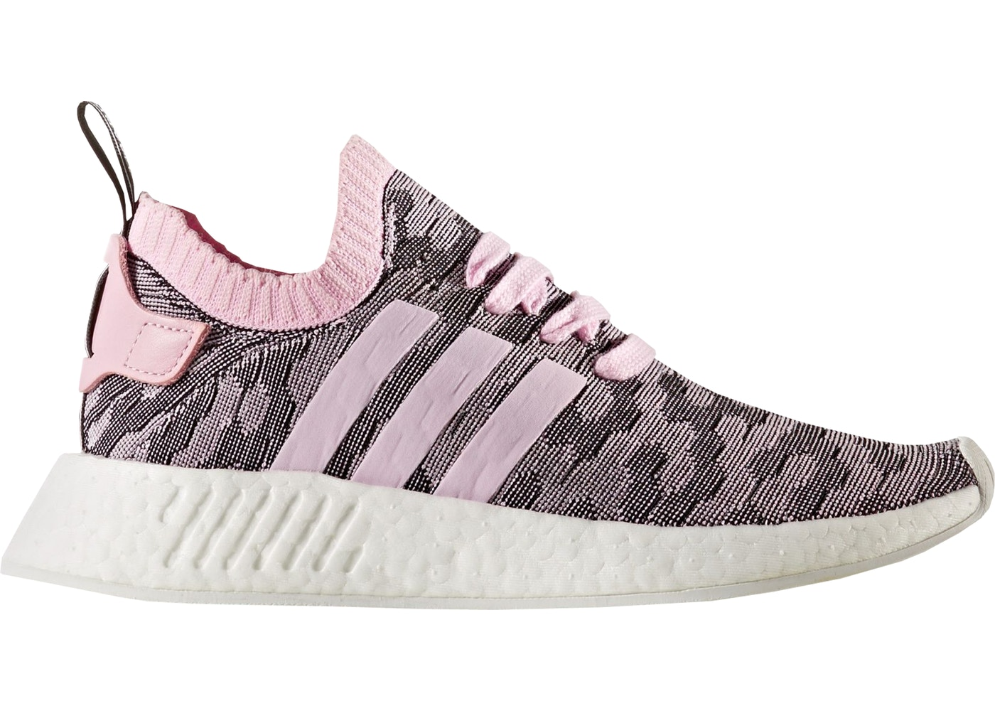 promo codes on feet shots of exclusive range adidas NMD R2 Wonder Pink Black (W)