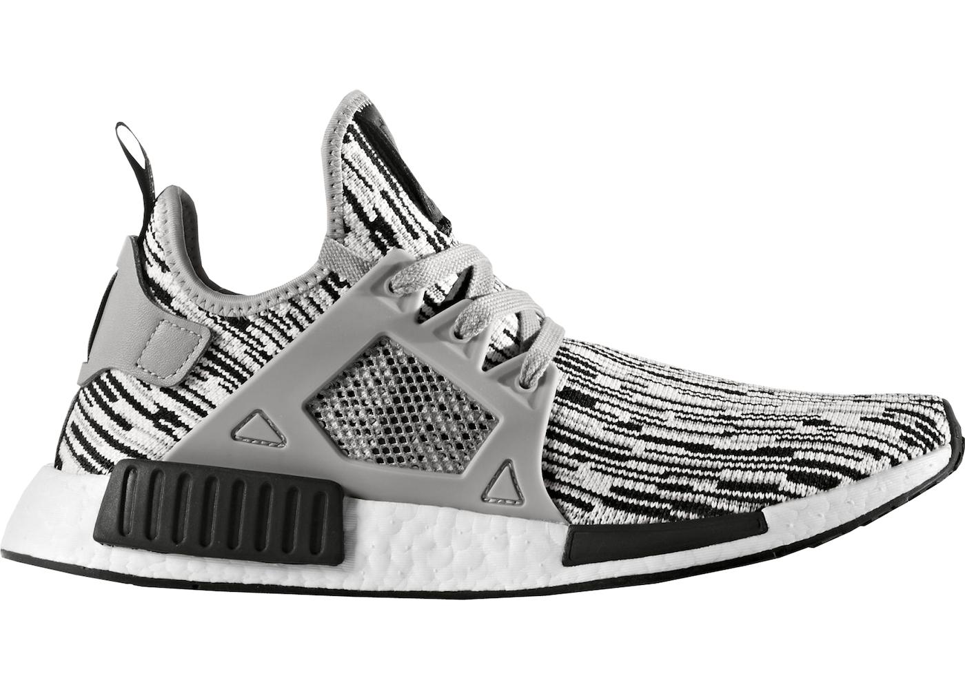 Adidas NMD_XR1 Primeknit Men's Shoes CBLUE/CBLACK S32212