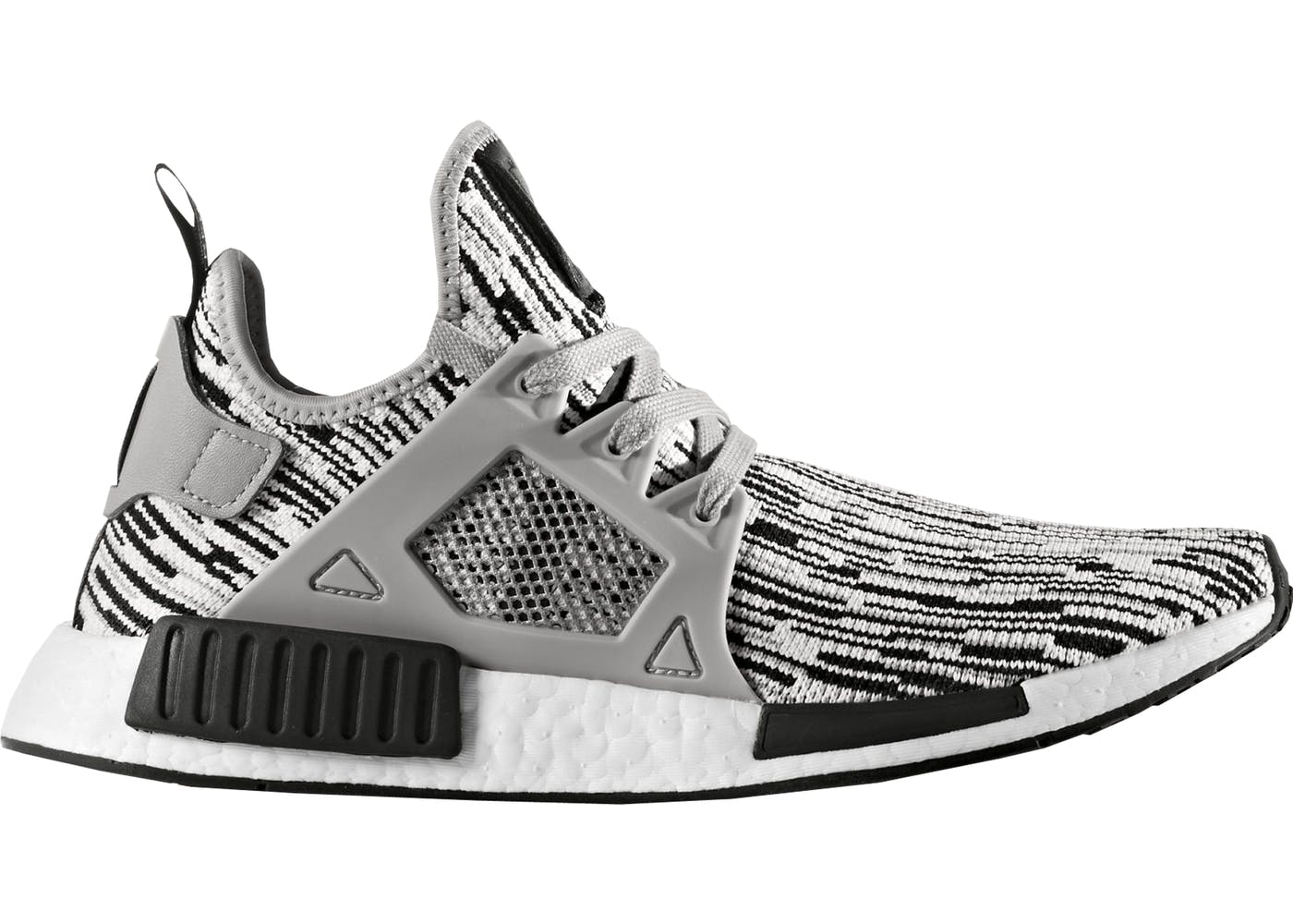 Adidas NMD XR1 Black Grey Glitch Camo Men's Size 9