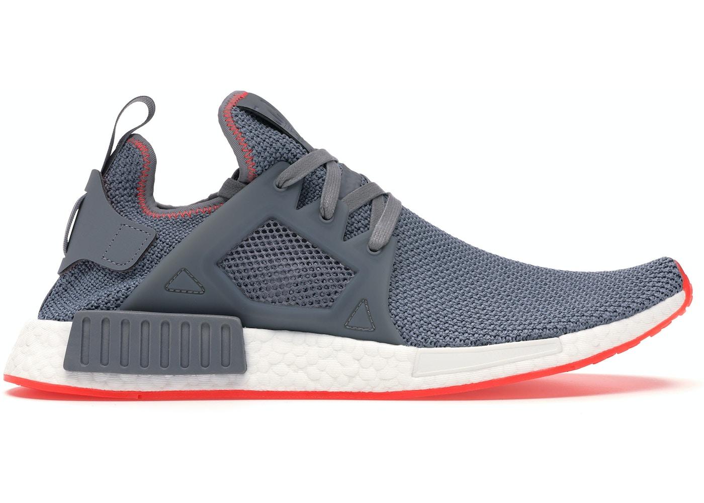 new products eb015 5fb32 adidas NMD XR1 Grey Three Solar Red - BY9925