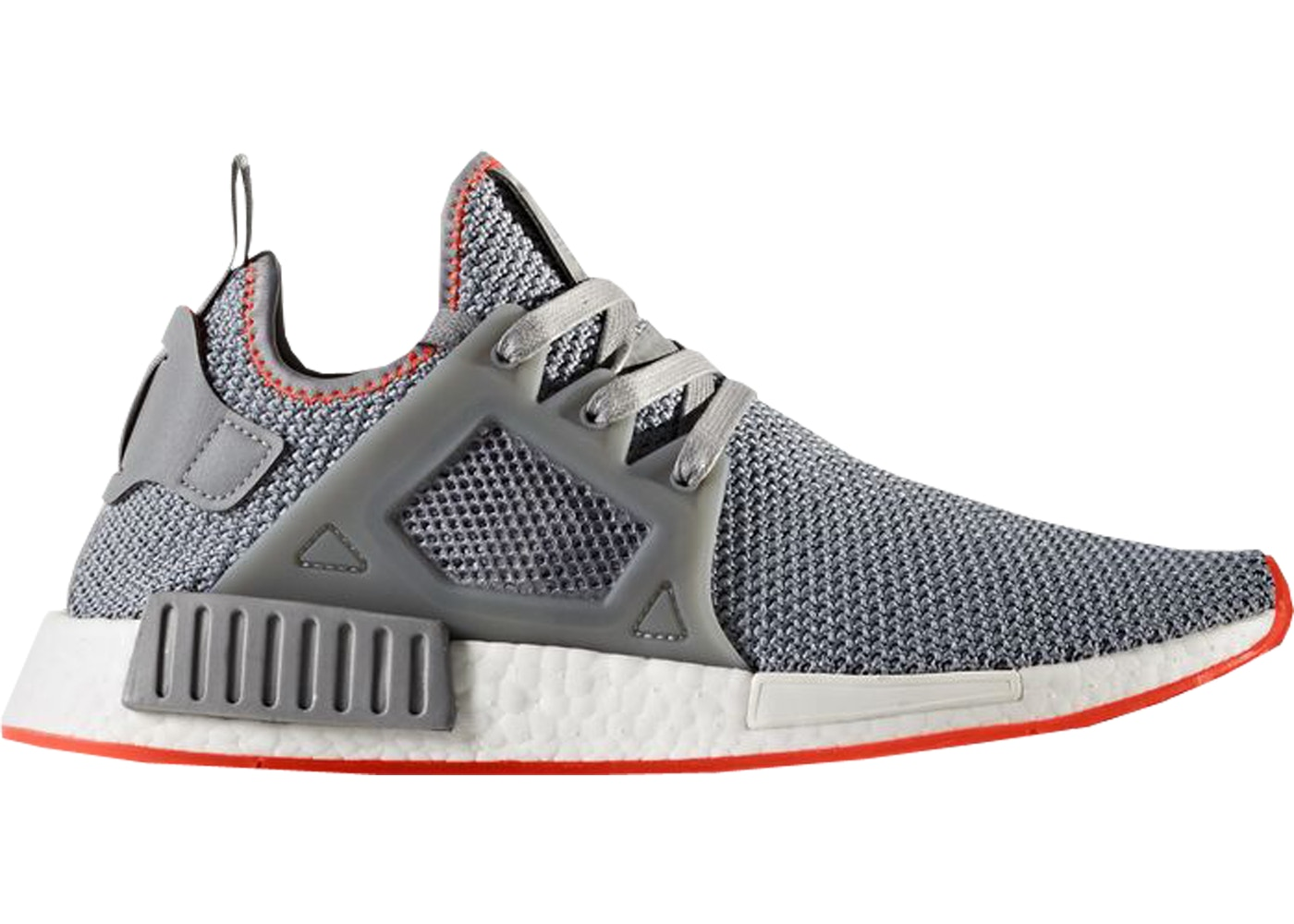 best website 0809b 63db6 adidas NMD XR1 Grey Three Solar Red