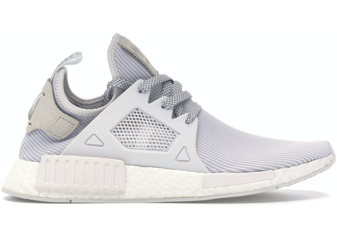 official photos ae434 af12d adidas NMD XR1 Triple White (W)