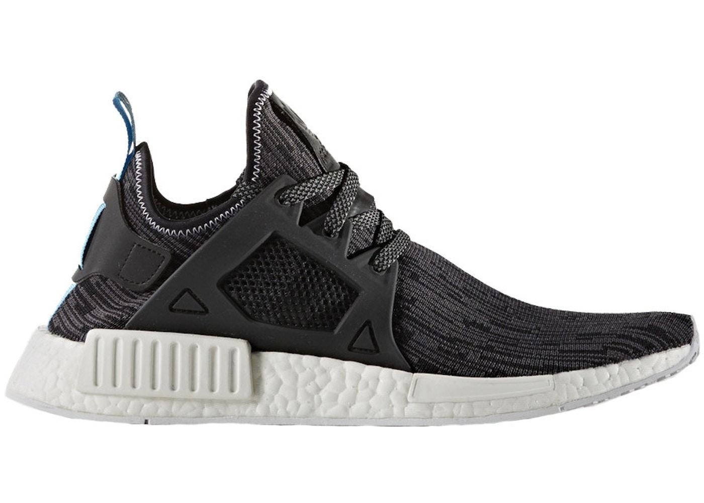 get cheap 1b068 9775f adidas NMD XR1 Utility Black Bright Blue