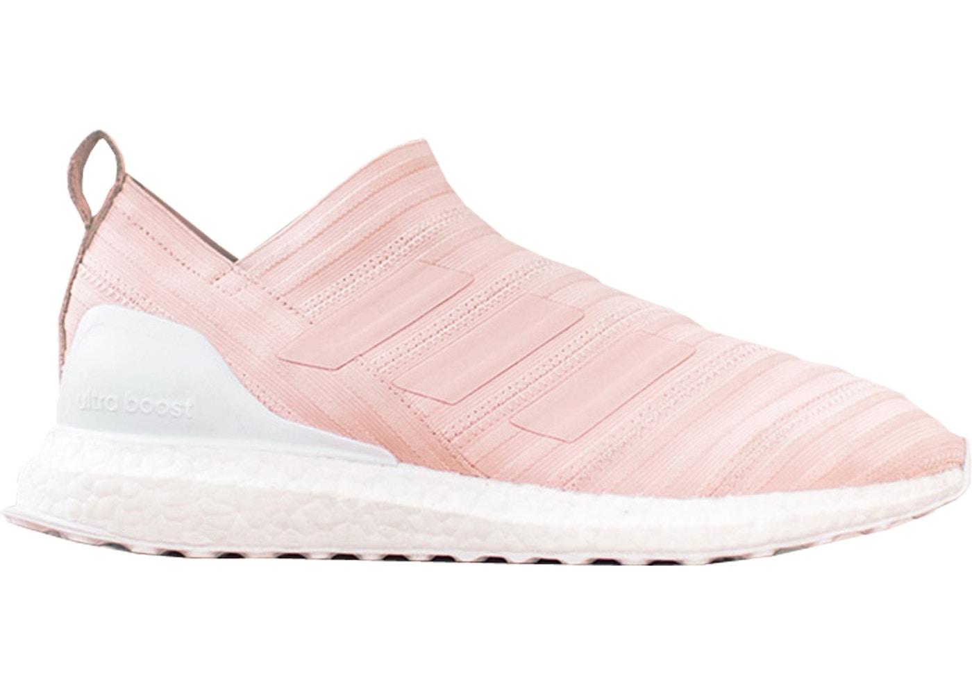 best sneakers b059b ade6b adidas Nemeziz Tango 17 Ultra Boost Kith Flamingos