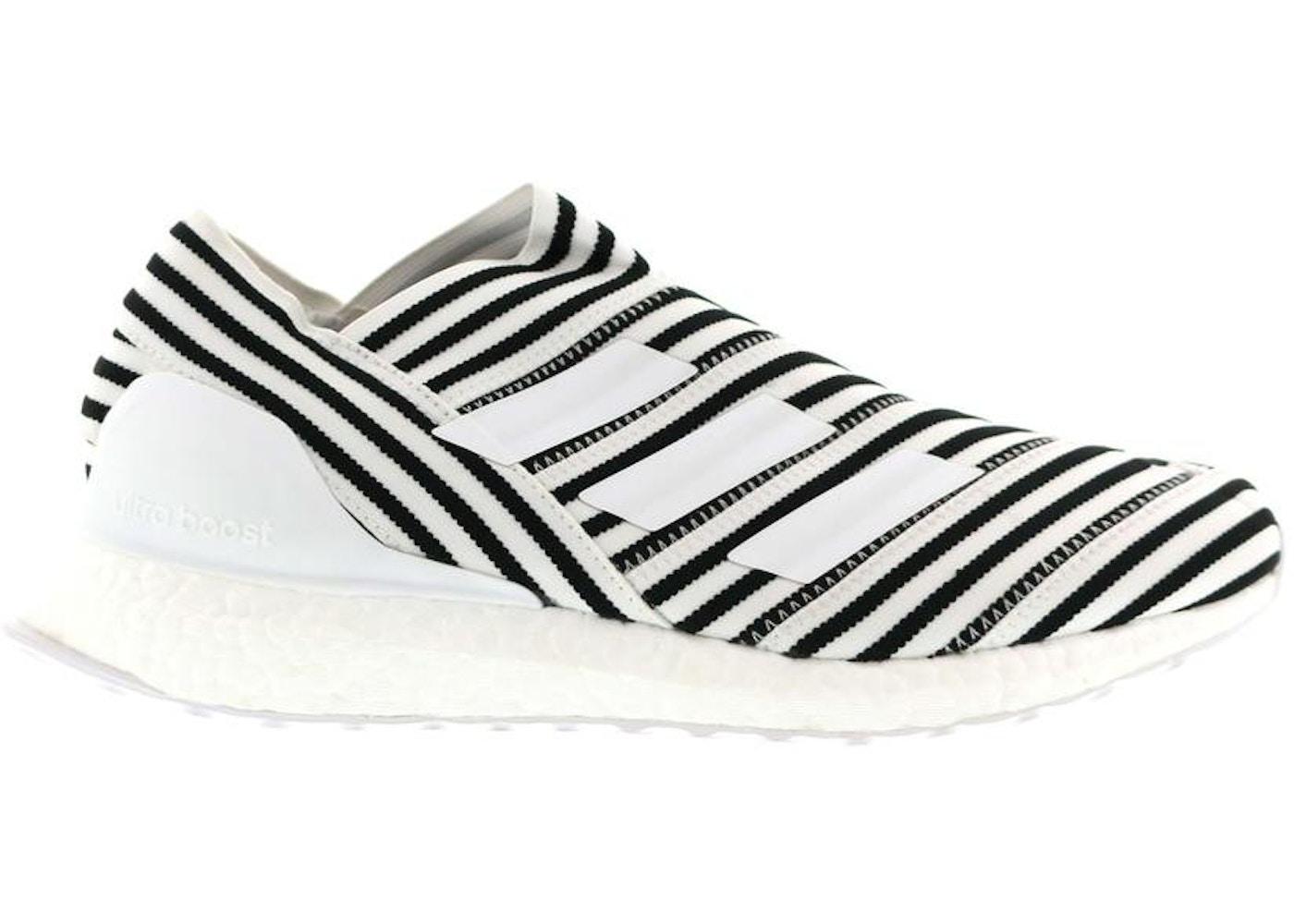 1fc035d5c adidas Nemeziz Tango 17+ Ultra Boost Agility Trainer White Black. White  Black