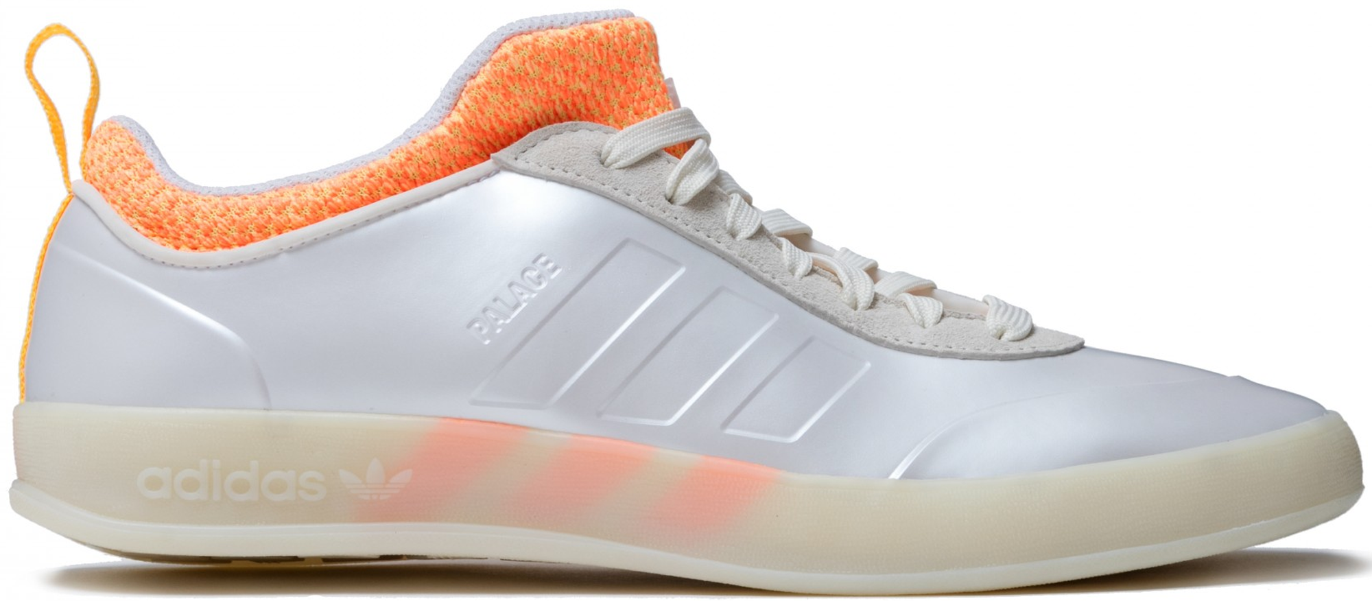 adidas Palace Pro 2 White Orange