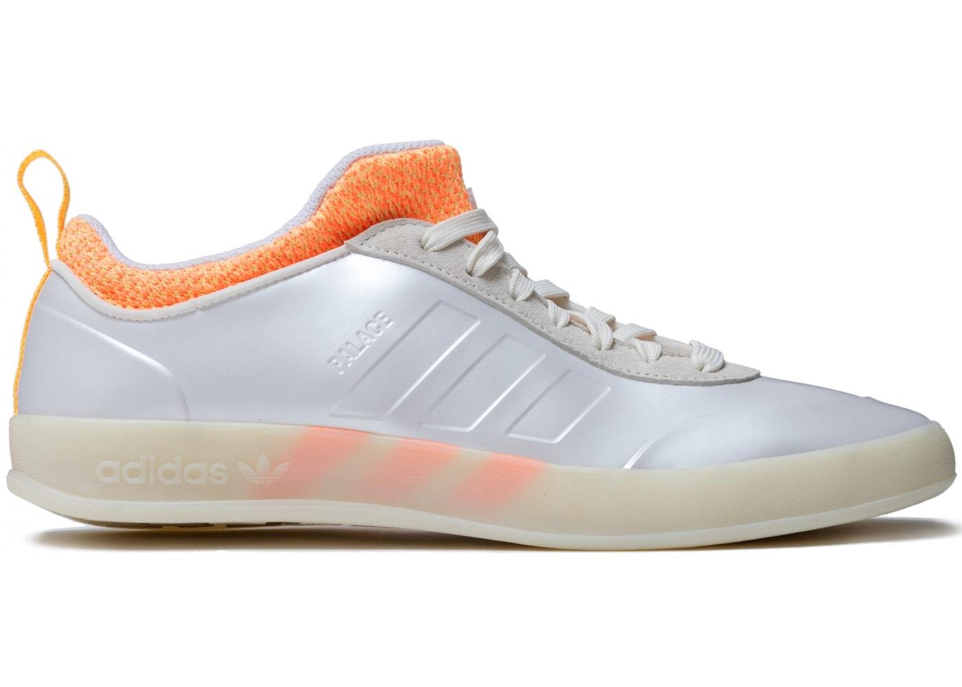 buy popular 7e4b3 8938c adidas Palace Pro 2 White Orange