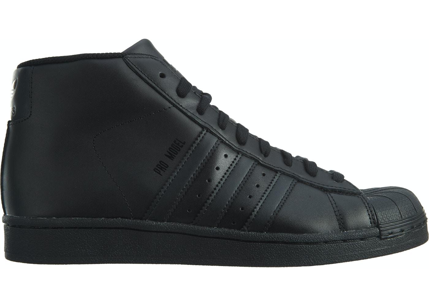 vente chaude en ligne 34a59 c1d28 adidas Pro Model Black/Black