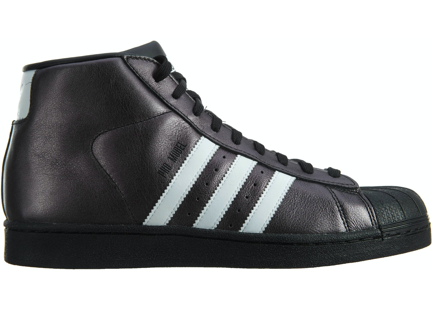 21c7bc326c adidas Pro Model Black/White-White