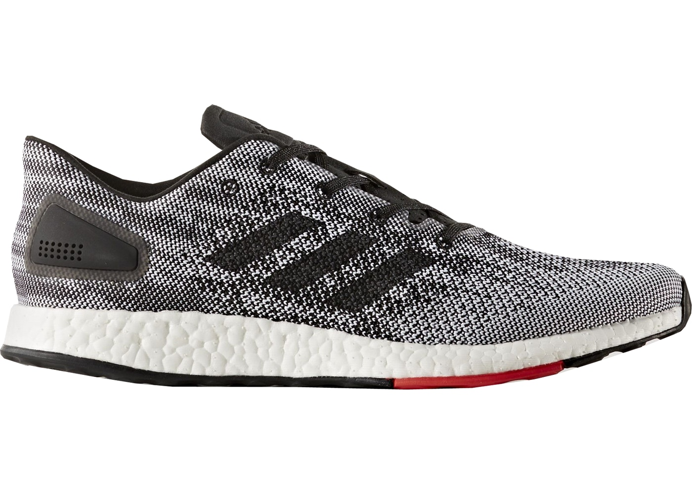 new product 276b8 6a7fd adidas PureBoost DPR Black White