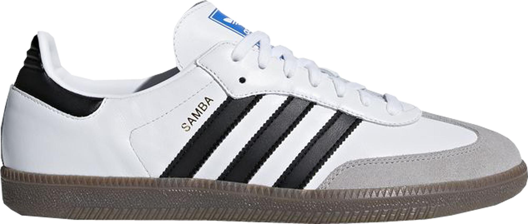 adidas Samba White Black Gum - B75806