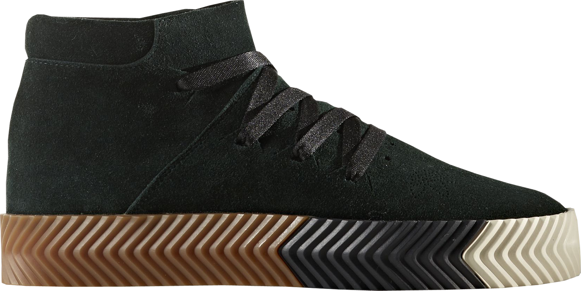 adidas Skate Mid Alexander Wang Green Night
