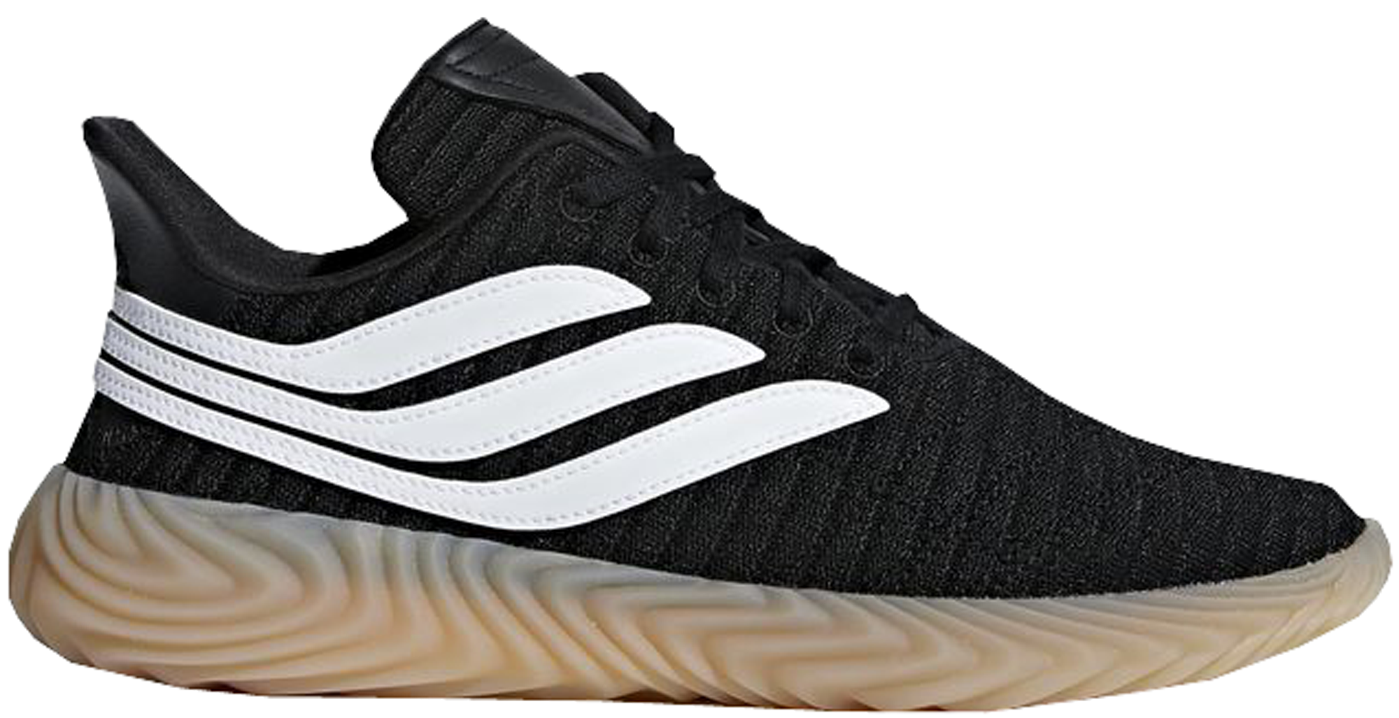 adidas Sobakov Black White Gum
