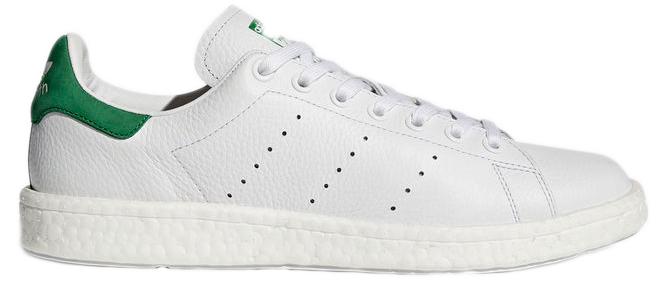 White//Footwear White//Green adidas Men Stan Smith Boost
