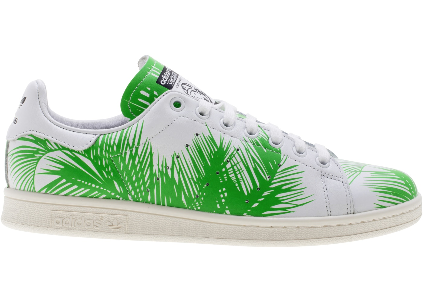 0acfd5a32 adidas Stan Smith Pharrell BBC Palm Tree Green - S82071