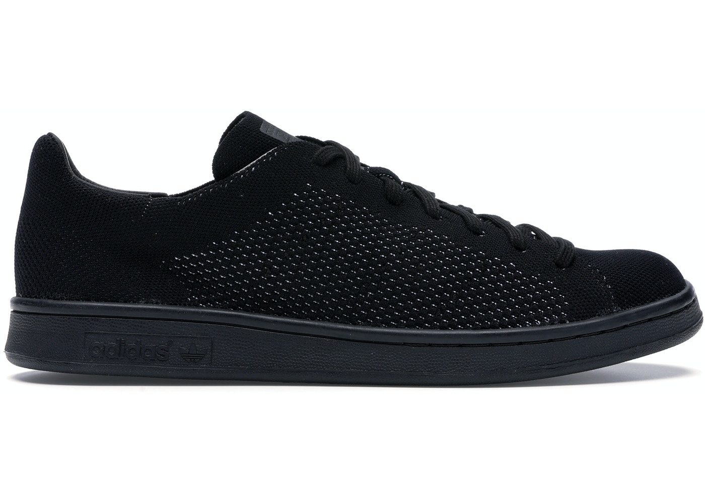 check out 7262a 60c40 adidas Stan Smith Primeknit Triple Black
