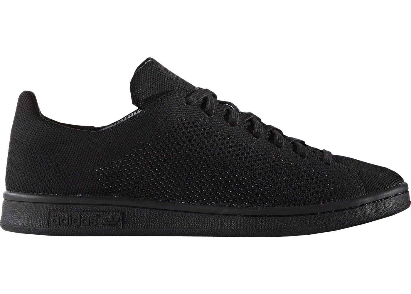 adidas stan smith primeknit triple black. Black Bedroom Furniture Sets. Home Design Ideas