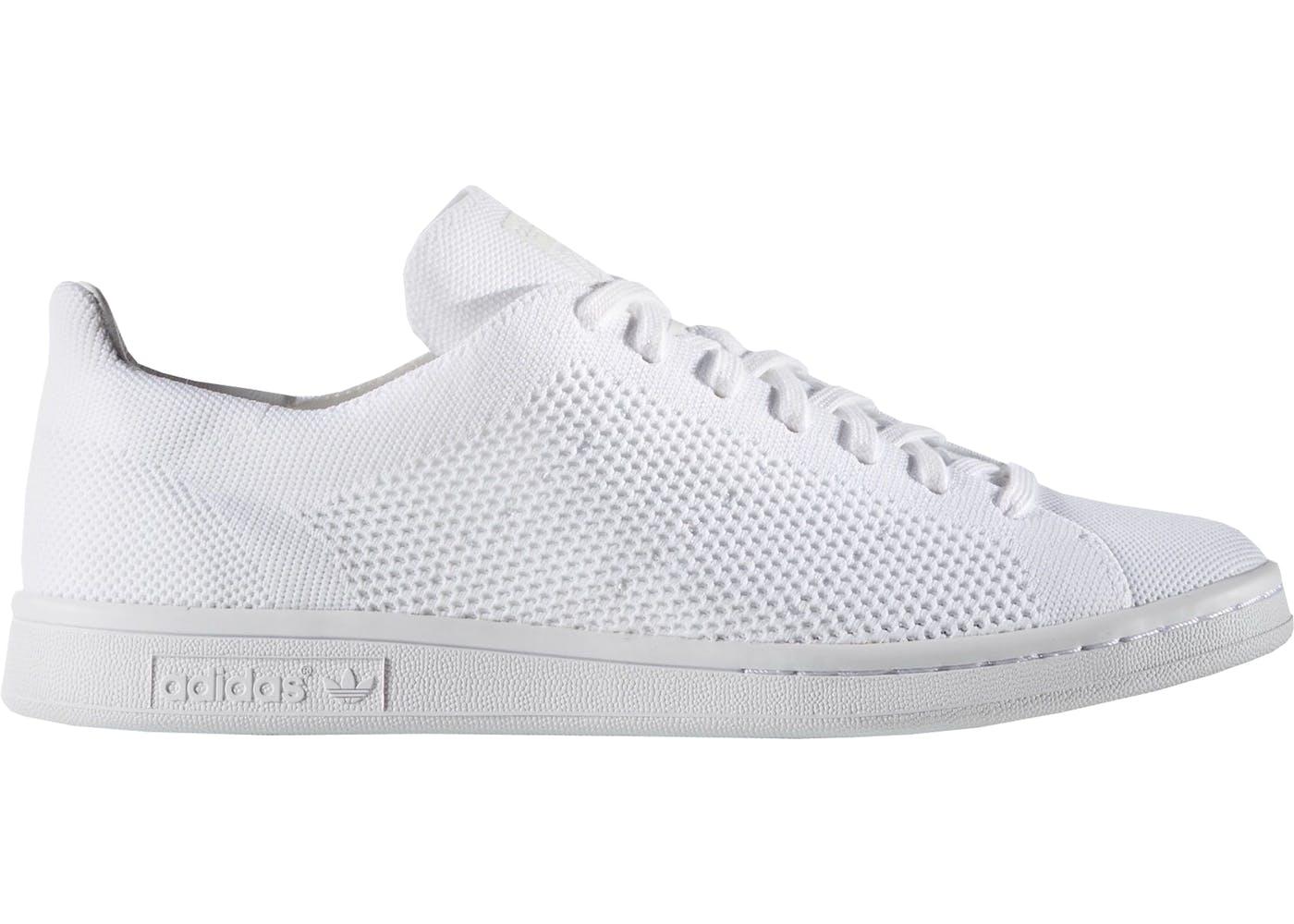 adidas stan smith primeknit triple white. Black Bedroom Furniture Sets. Home Design Ideas