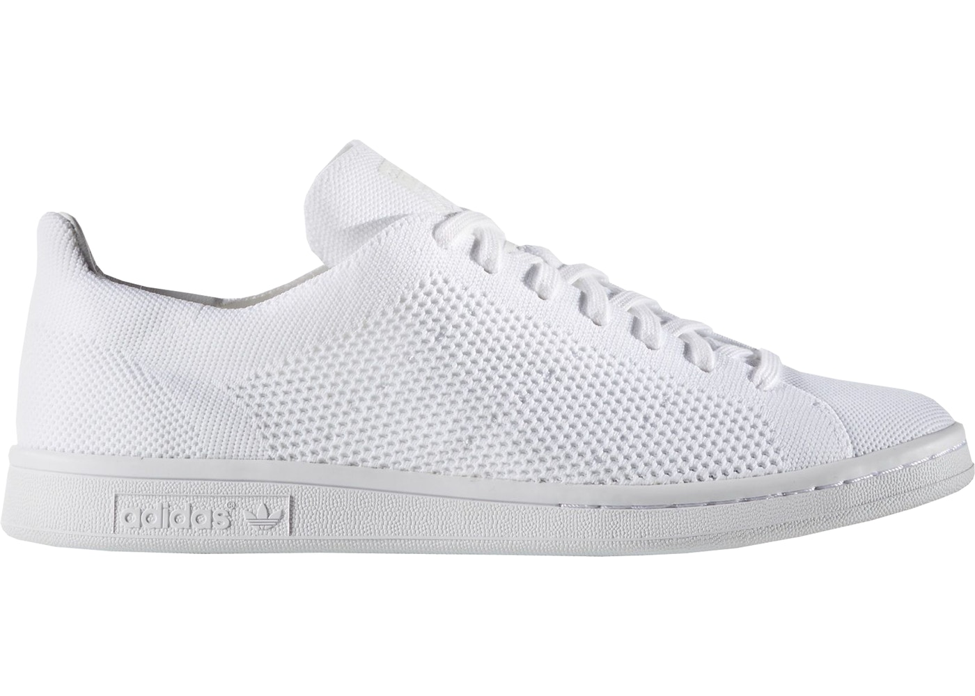 buy popular 13064 5bfe7 adidas Stan Smith Primeknit Triple White - BB3786