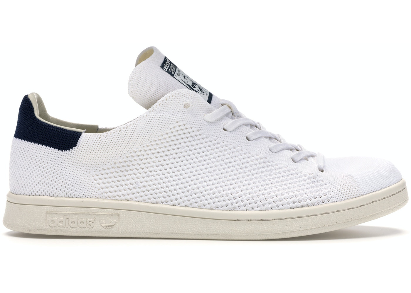 popular stores offer discounts temperament shoes adidas Stan Smith Primeknit White Blue