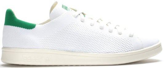 adidas Stan Smith Primeknit White Green