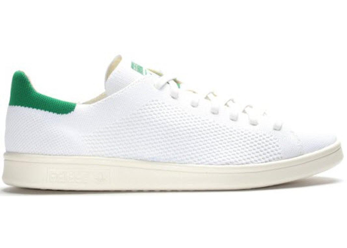 b875579a7df adidas Stan Smith Primeknit White Green - S75146