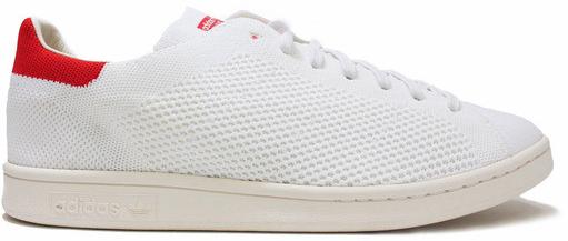 adidas Stan Smith Primeknit White Red