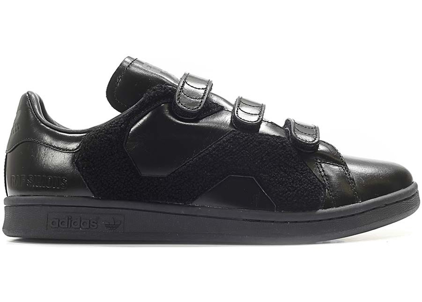 online store 534f0 28f55 adidas Stan Smith Raf Simons Comfort Badge Black