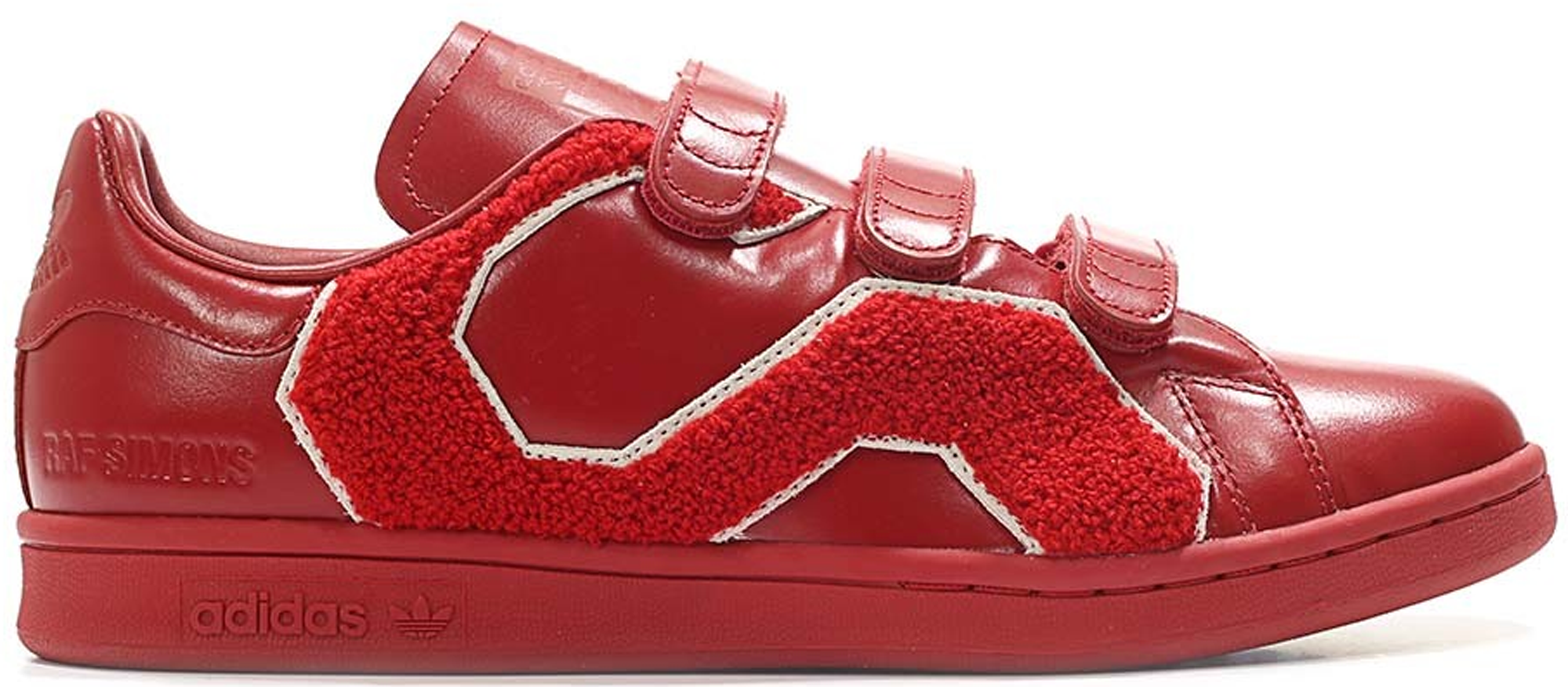 adidas Stan Smith Raf Simons Comfort Badge Power Red