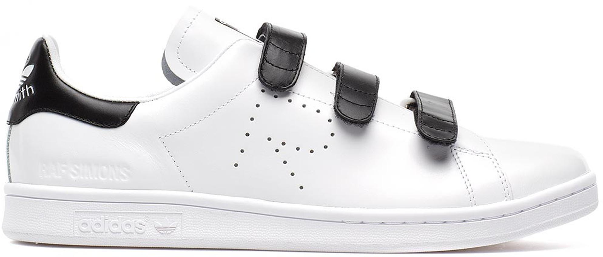 adidas Stan Smith Raf Simons Comfort White Black
