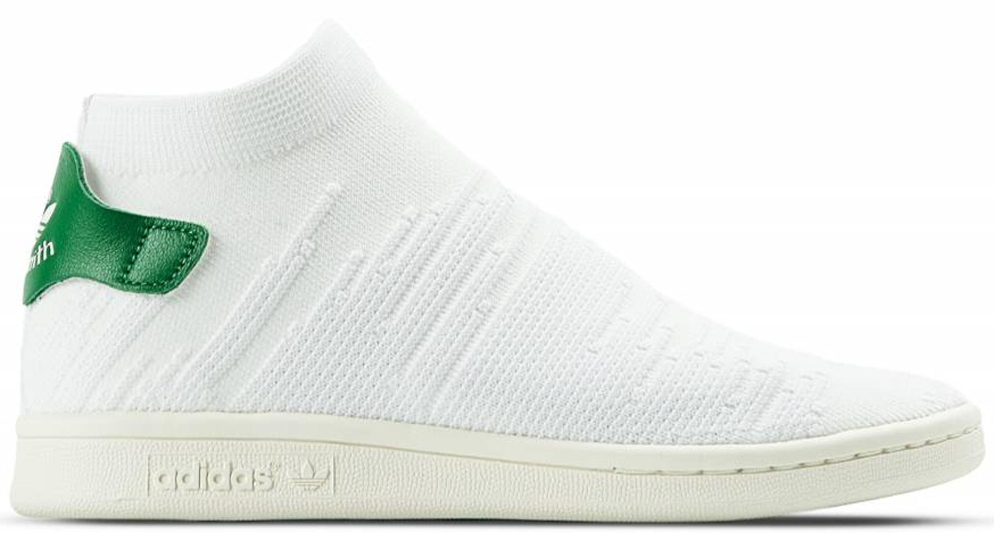 adidas Stan Smith Sock White Green (W