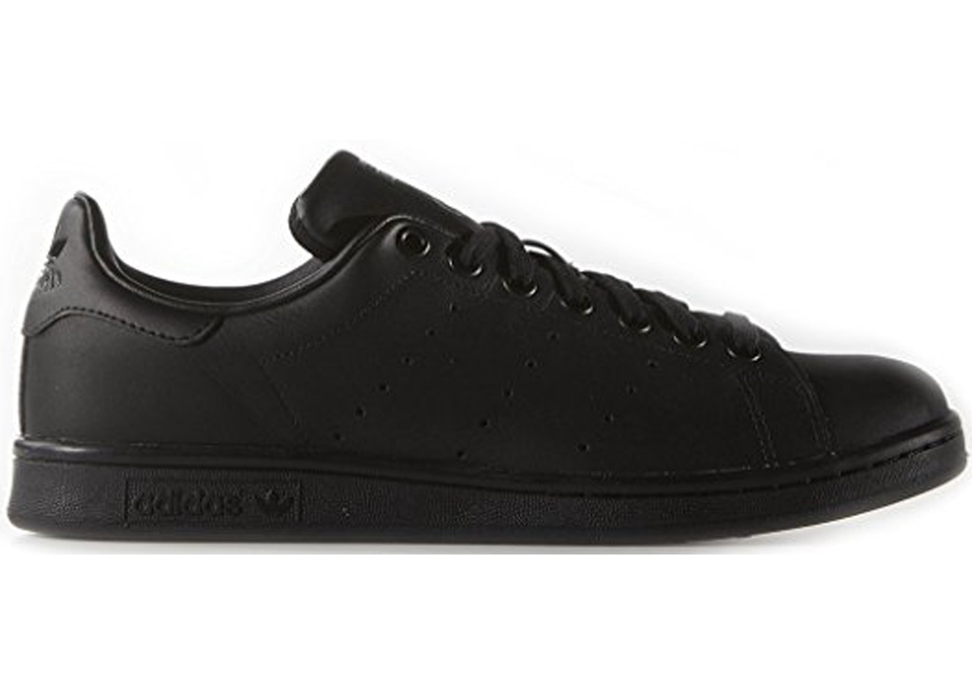 quality design f1c74 f12f5 adidas Stan Smith Triple Black