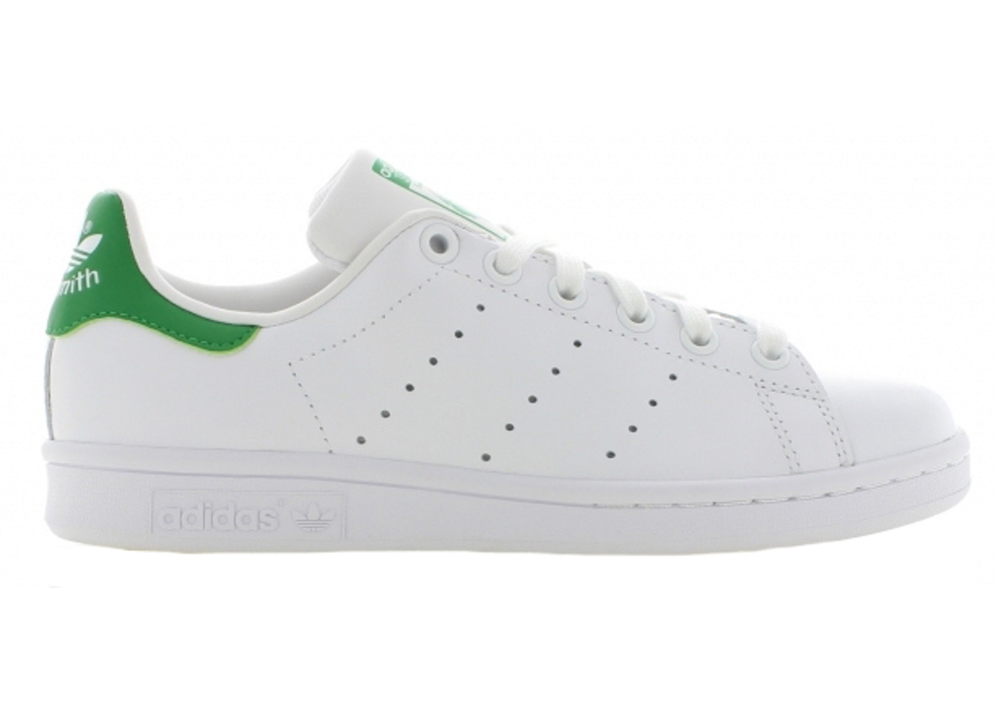 wholesale dealer 6de3e 04320 adidas Stan Smith White Green (GS)