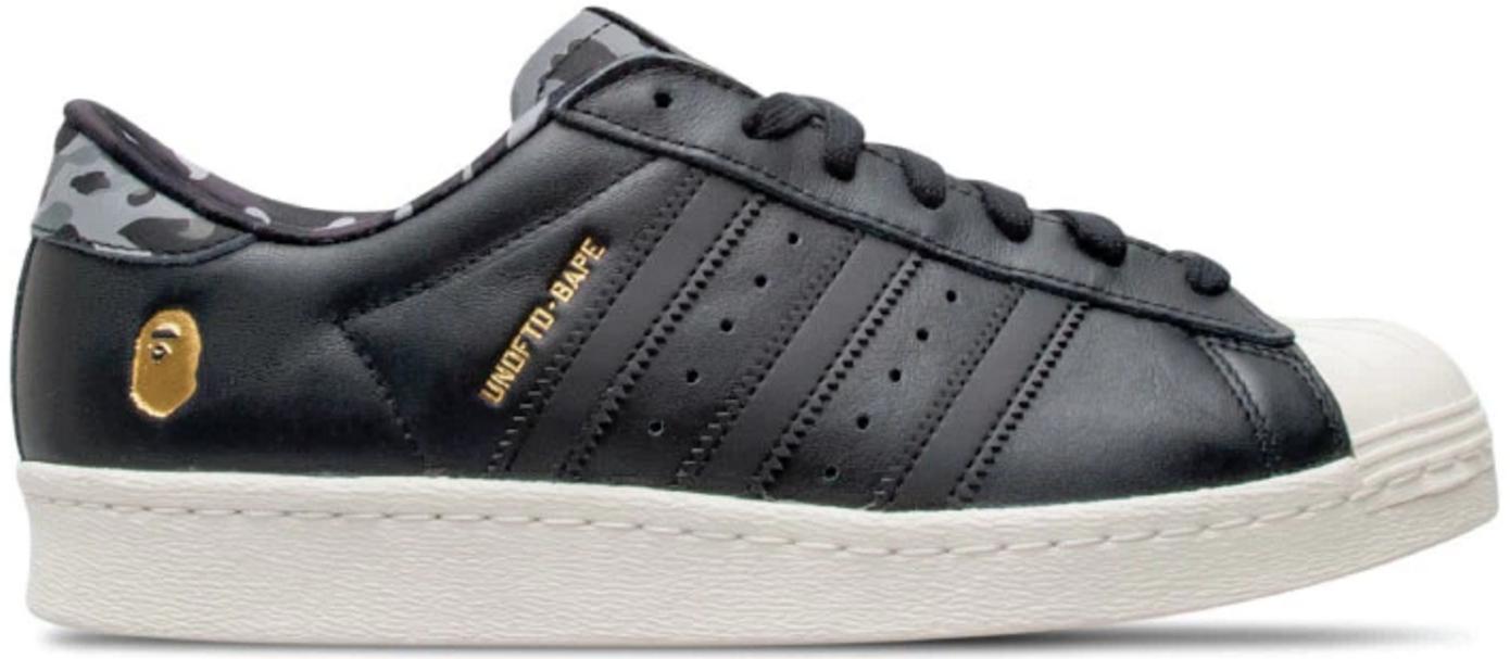 adidas Superstar 80s Undftd Bape Black