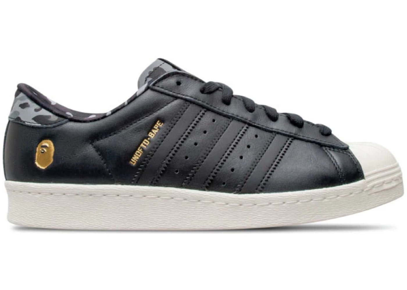 c82af4ae adidas Superstar 80s Undftd Bape Black - B34291