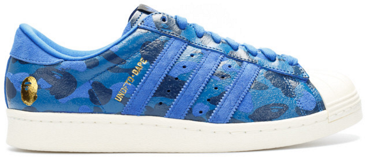 adidas Superstar 80s Undftd Bape Blue