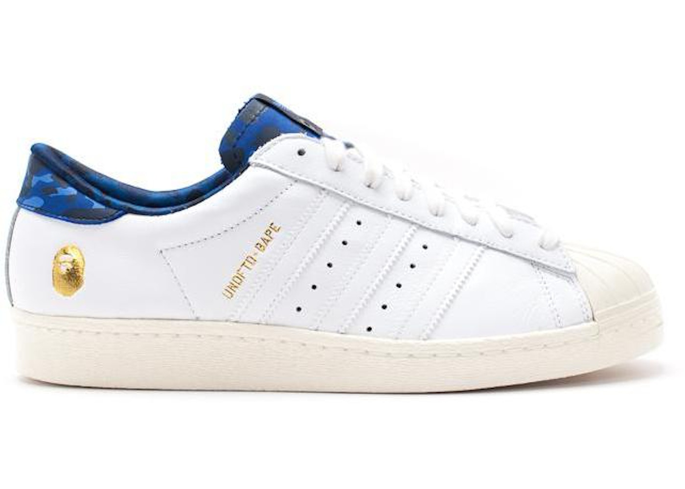 Sell. or Ask. Size  10.5. View All Bids. adidas Superstar 80s Undftd Bape  White 65aa7d61510