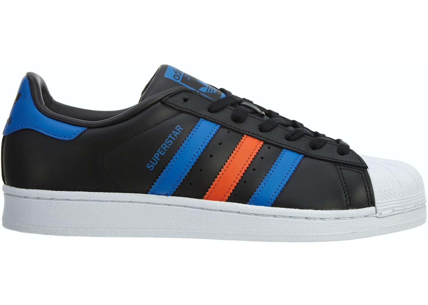 7a65aa18f5c2 adidas Superstar Black Blue-White - BB2245
