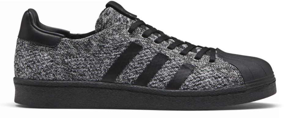 Cheap Adidas Originals SUPERSTAR Slip ons white/core black Zalando