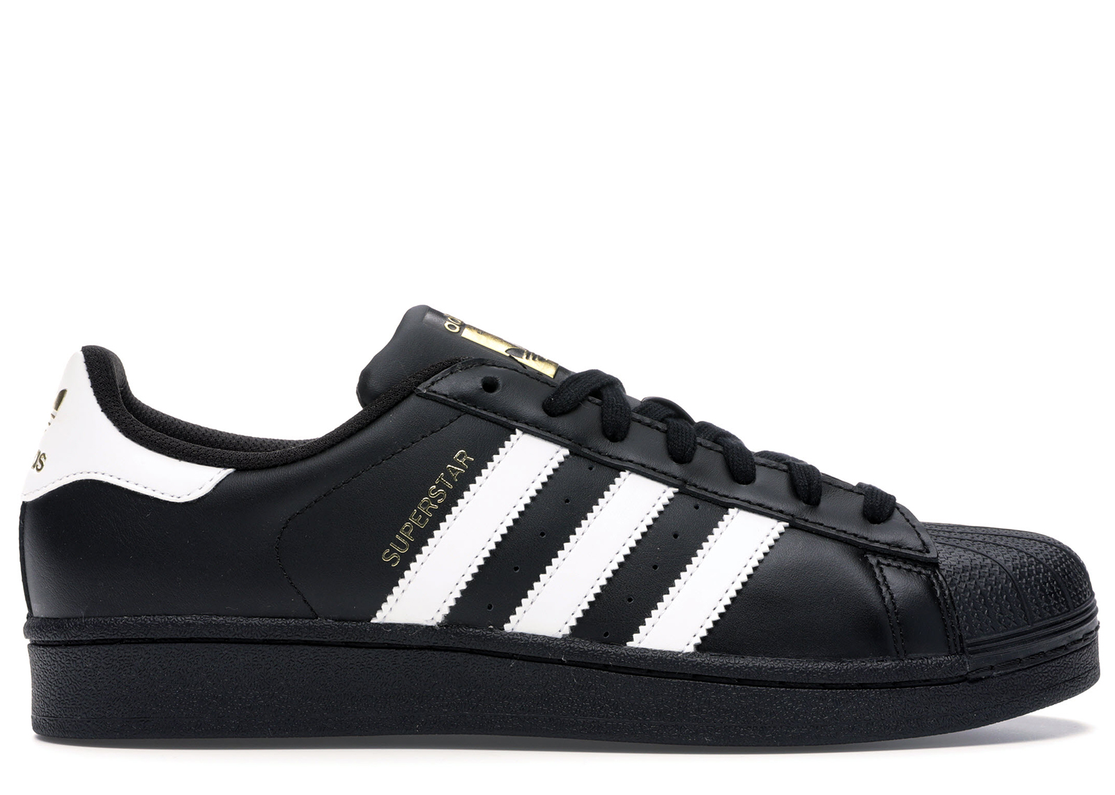adidas Superstar Foundation BlackWhiteBlack