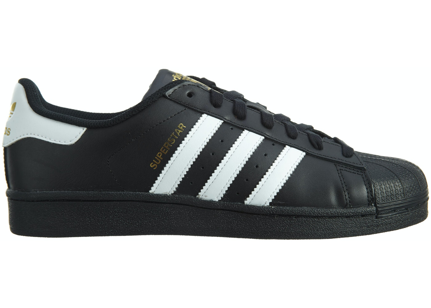 1eb517d4 adidas Superstar Foundation Black/White/Black - B27140