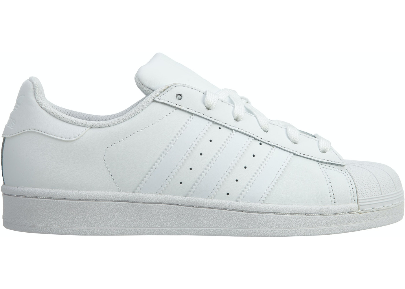 new product 41135 a641c adidas Superstar Foundation White White