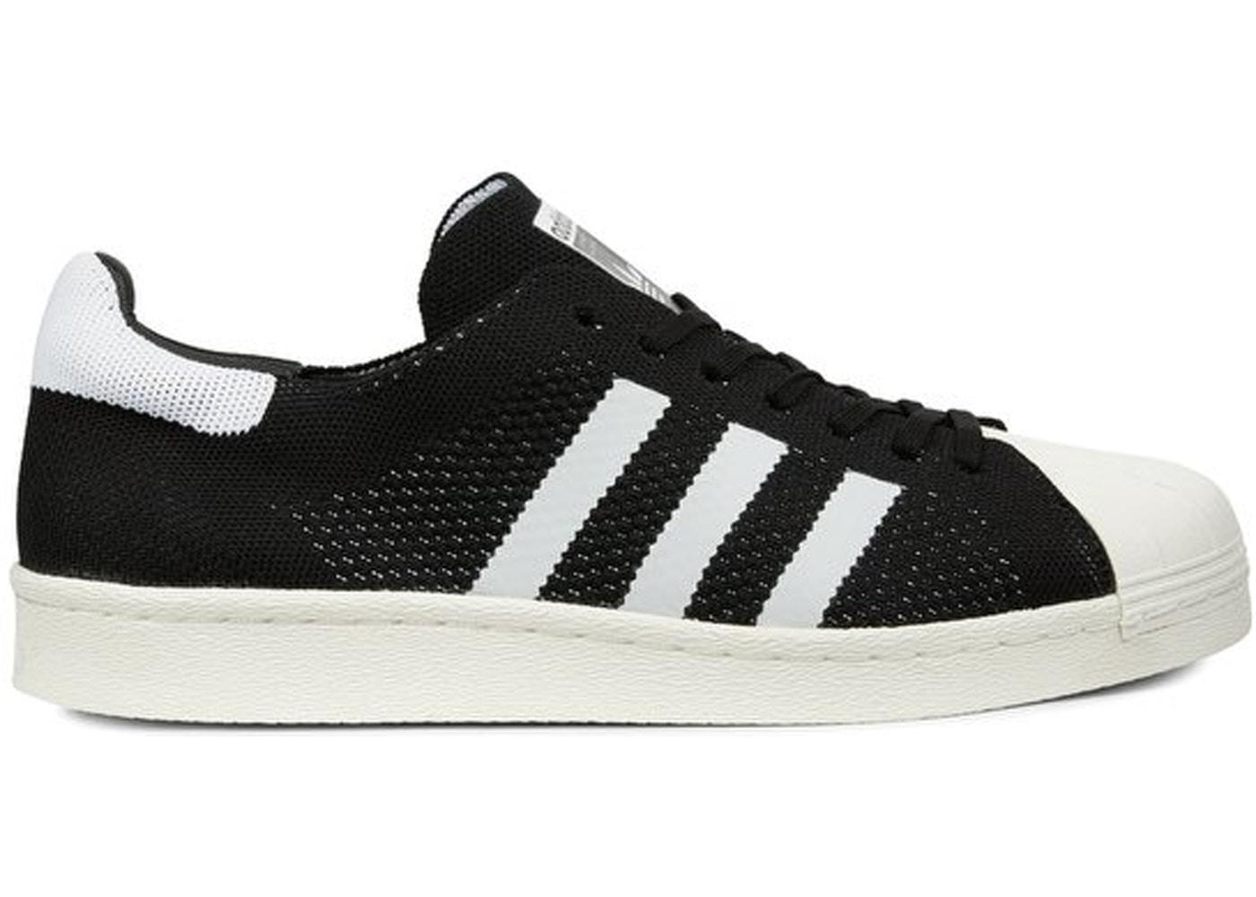 adidas superstar black white sale