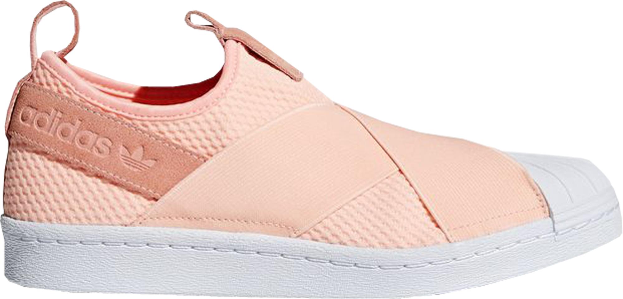 adidas Superstar Slip-On Clear Orange