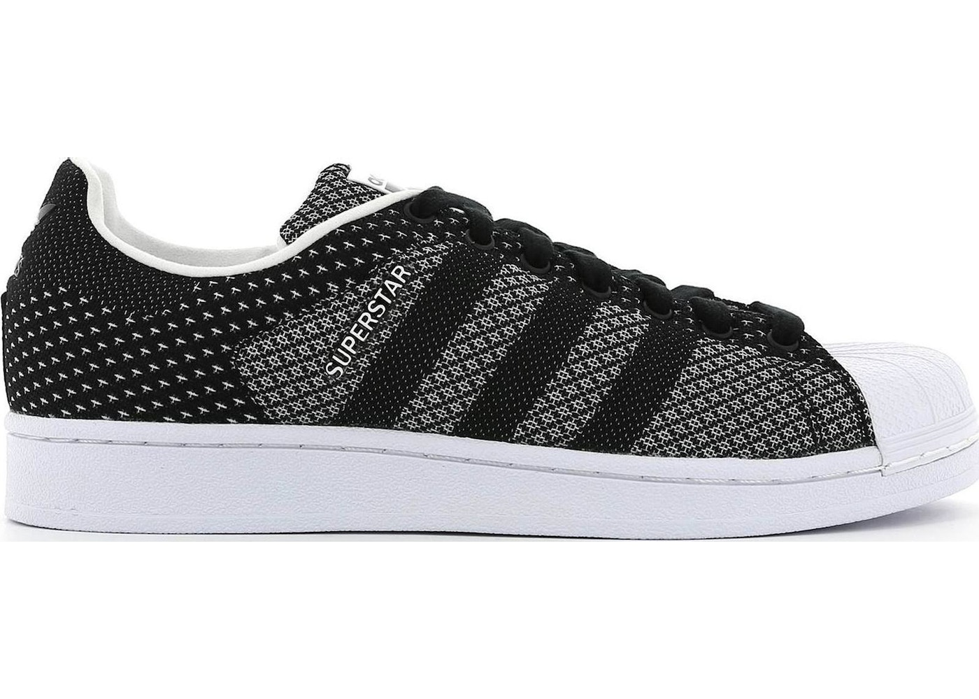 the latest 909ff eaecc adidas Superstar Weave Black