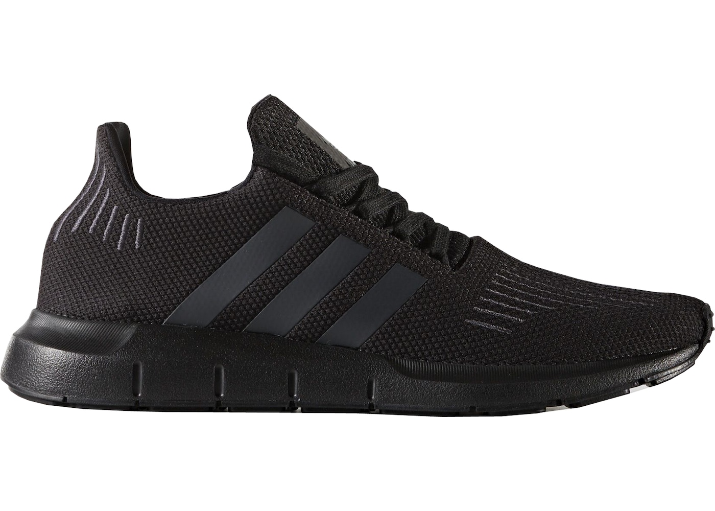 77060127c Sell. or Ask. Size 8. View All Bids. adidas Swift Run Triple Black