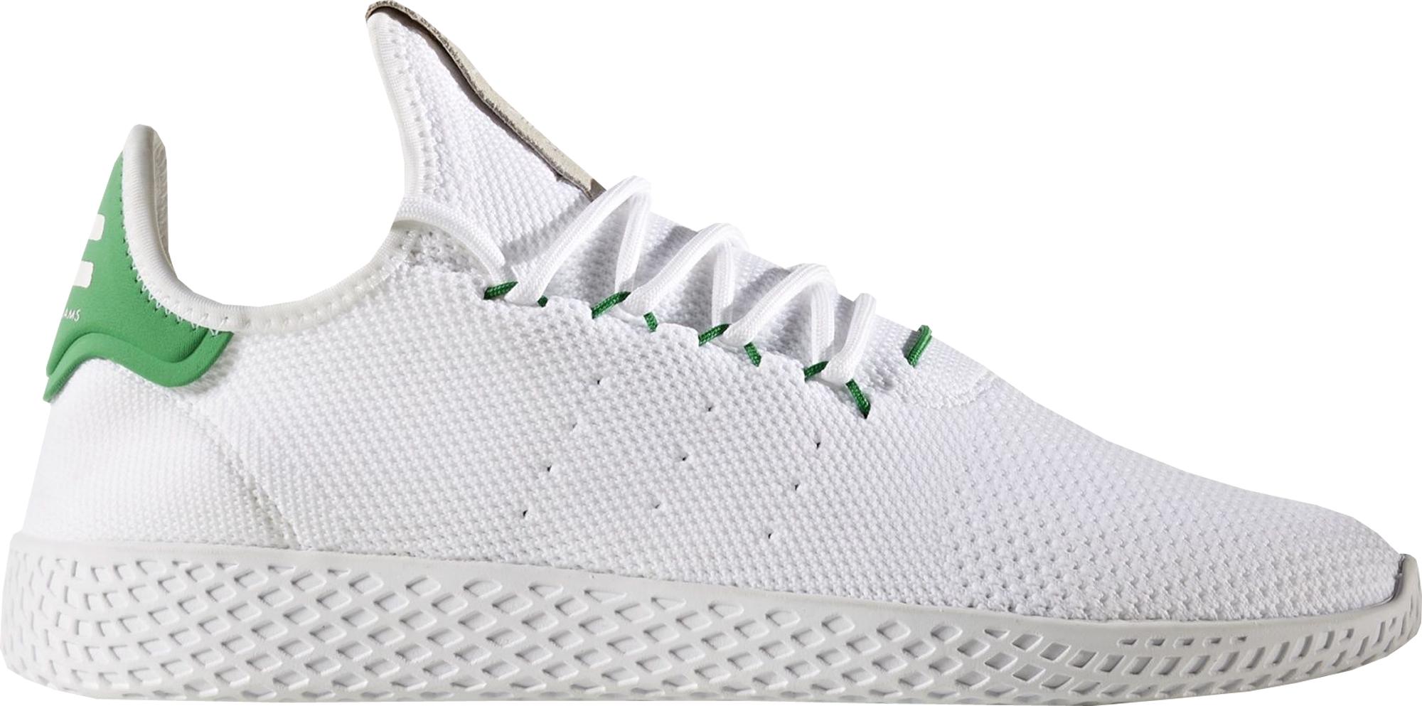 adidas Tennis HU Pharrell White Green