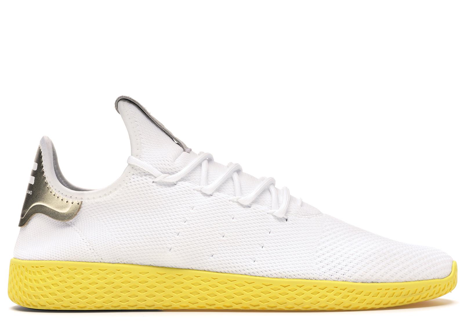 adidas Tennis HU Pharrell White Yellow