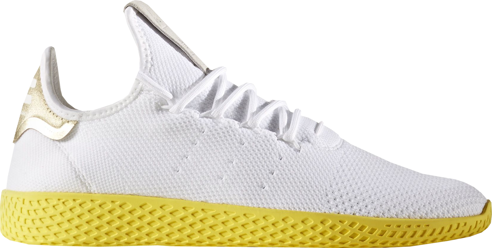 adidas Tennis HU Pharrell White Yellow