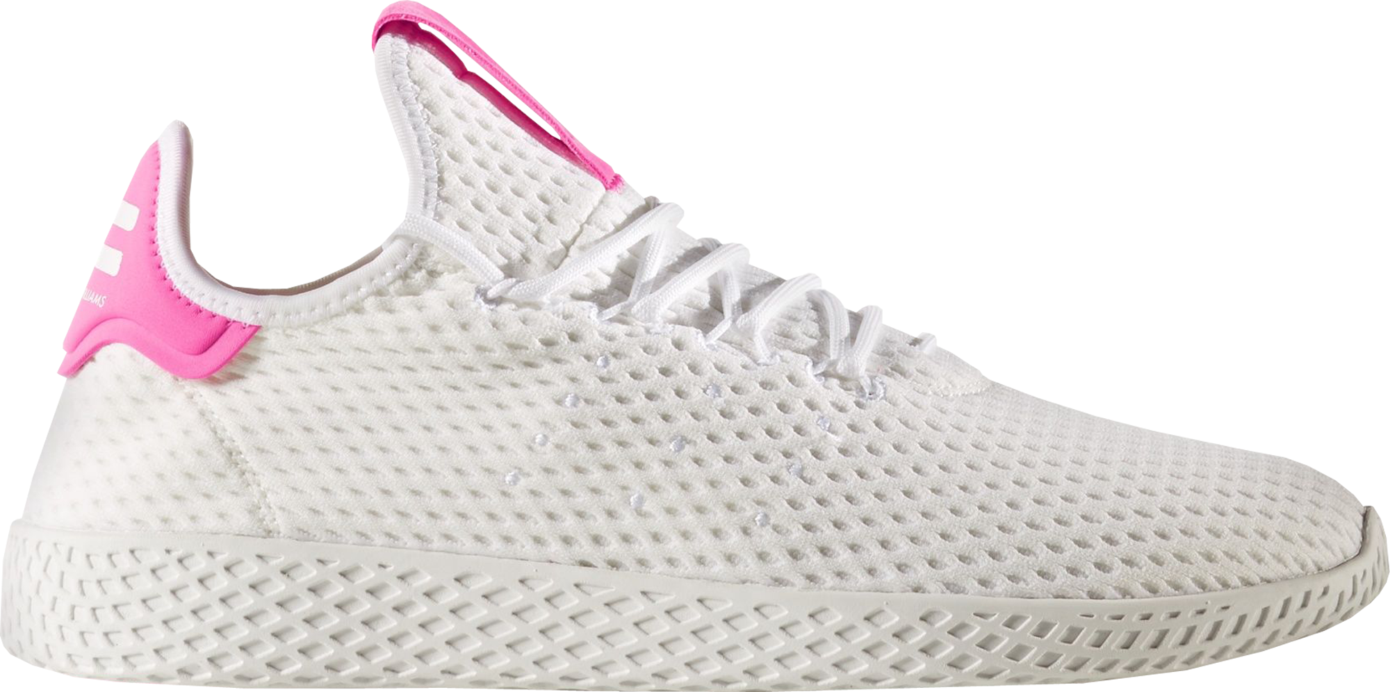 adidas Tennis Hu Pharrell Semi Solar Pink